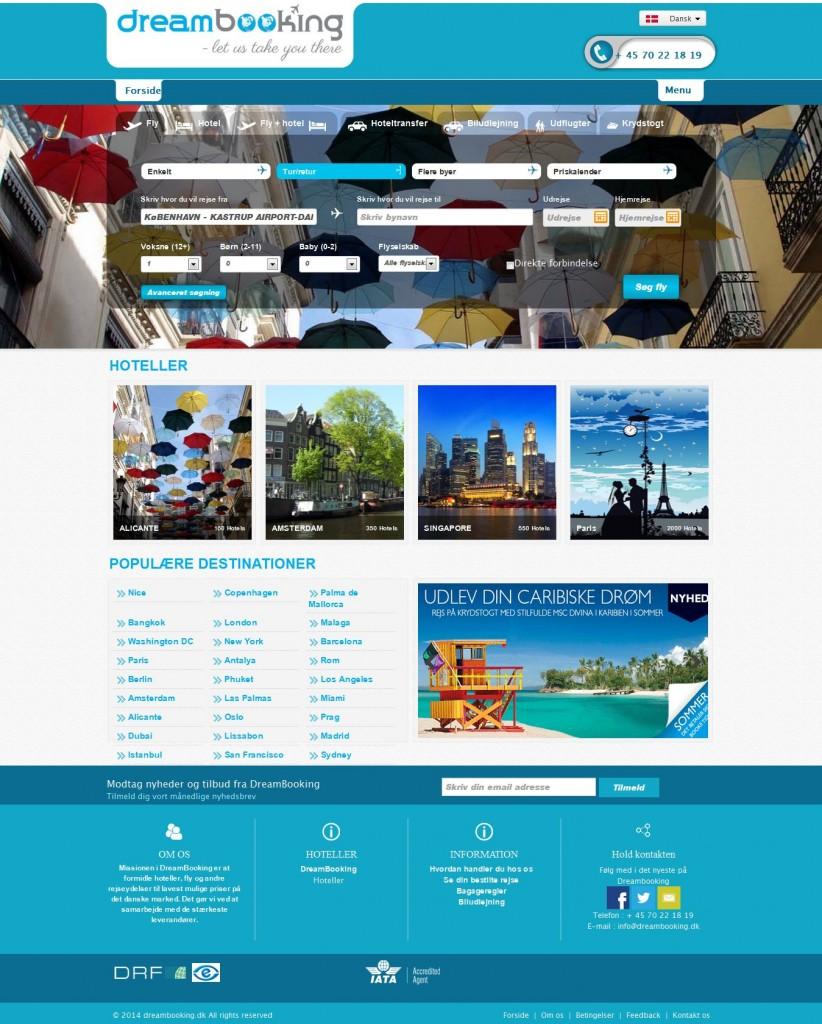 Travel Agency Software System