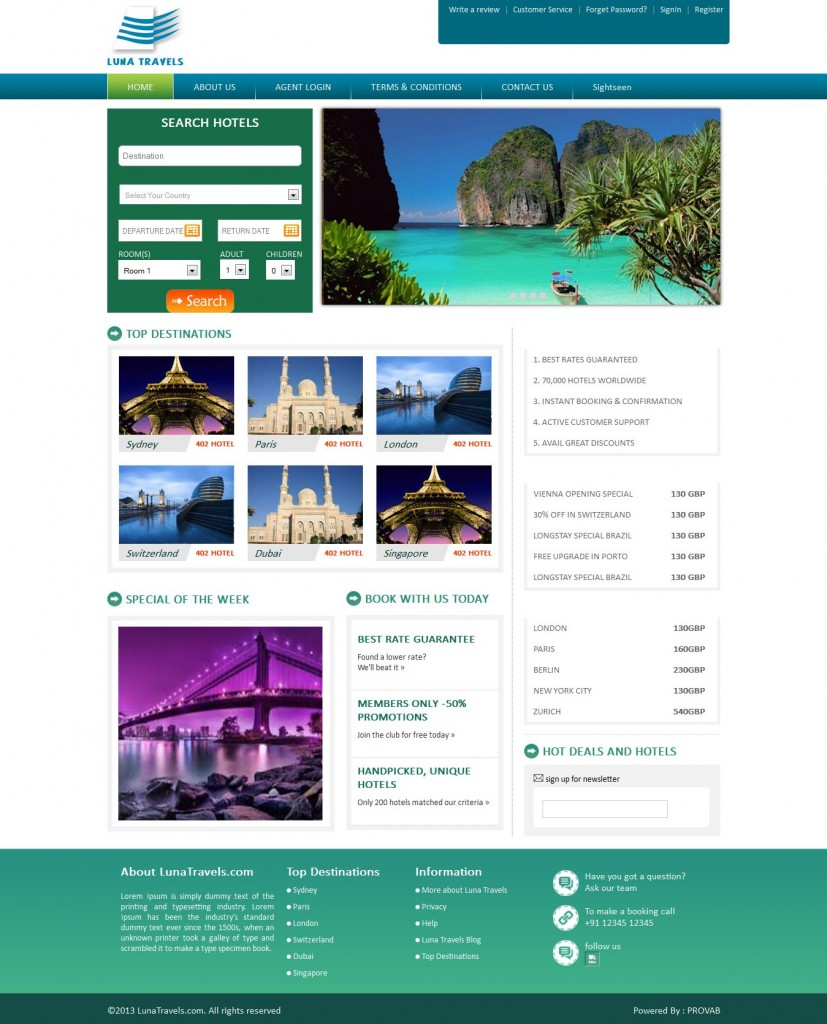 How to choose right travel agency software development for Agence reservation hotel
