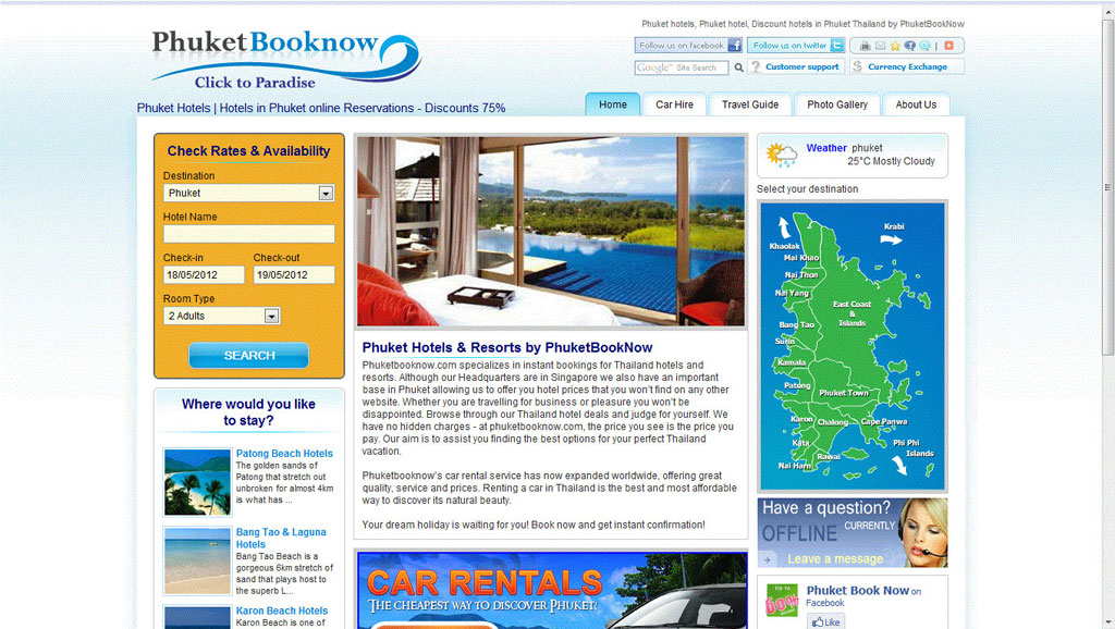 Online Booking System, Hotel Booking System, Online Booking