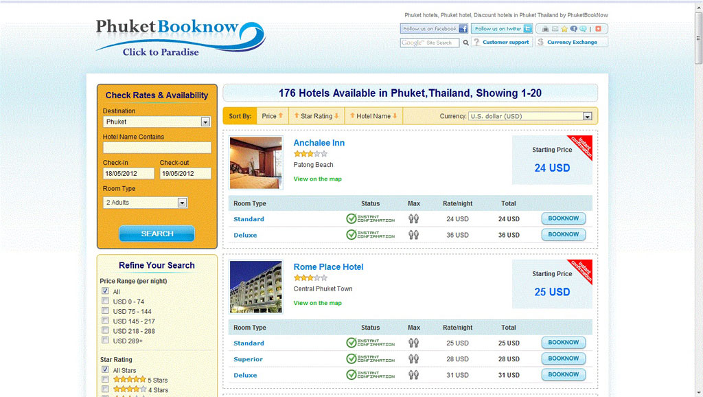 Online Booking System